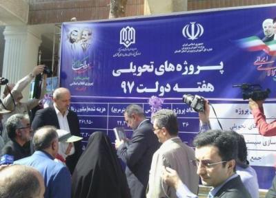 پروژه های متمرکز آموزش و پرورش گلستان افتتاح شد