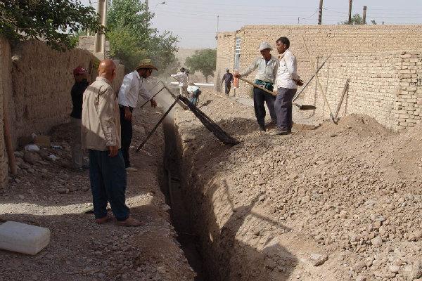 عملیات گازرسانی به 18 روستای درب گنبد شروع شد