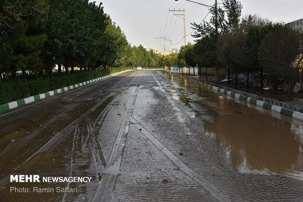 احتمال وقوع سیلاب در نقاط مستعد گلستان