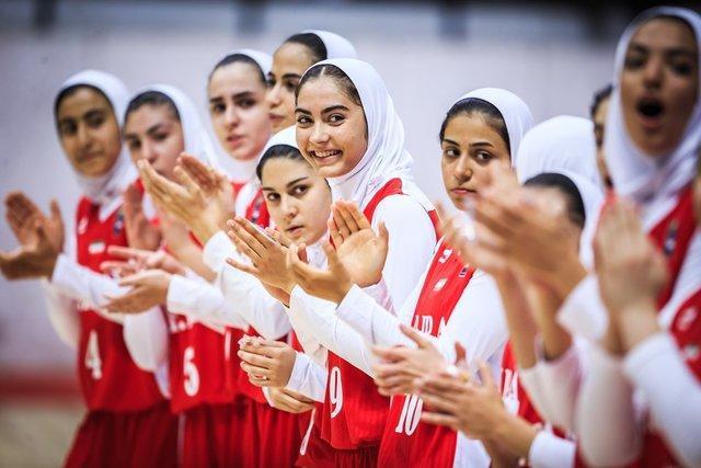 دختران بسکتبالیست ایران، گوام را هم شکست دادند