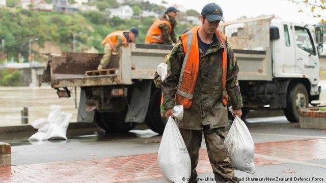 ارتش نیوزیلند تغییرات اقلیمی را خطرناک ترین دشمن می داند