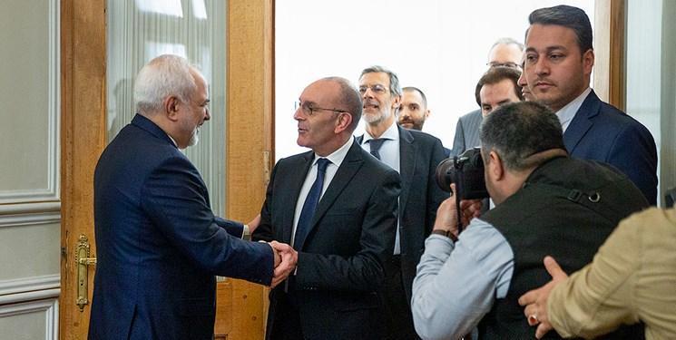دیدار رئیس کمیسیون سیاست خارجی و مهاجرت مجلس سنای ایتالیا با ظریف