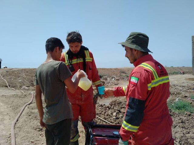 نجات 4 فرد گرفتار در 4 عملیات آتش نشانان