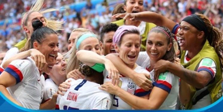 جام جهانی فوتبال زنان، آمریکا با غلبه بر هلند قهرمان شد