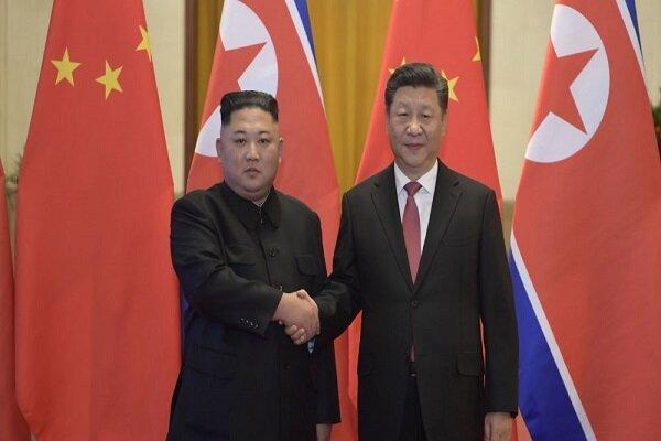 پیغام رهبر کره شمالی خطاب به رئیس جمهور چین: همیشه کنار شما خواهیم بود