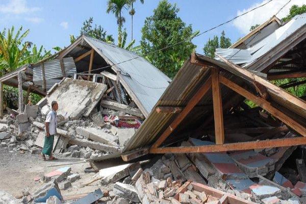 زلزله دیگری جزیره لومبوک در اندونزی را به لرزه درآورد
