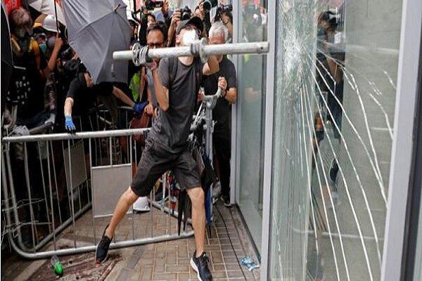 ادامه ناآرامی ها در هنگ کنگ