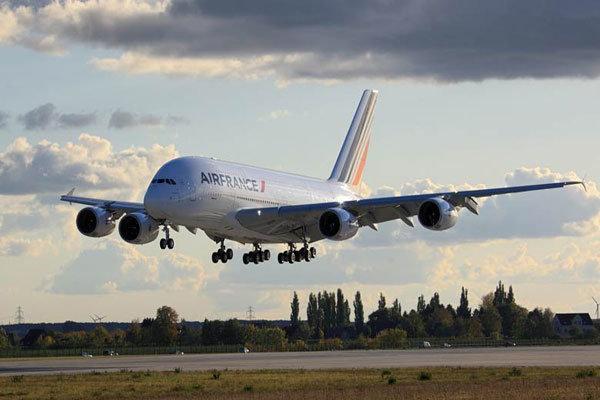 فرود اضطراری هواپیمای ایرفرانس در مونترال