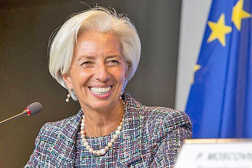 لاگارد رئیس بانک مرکزی اروپا شد