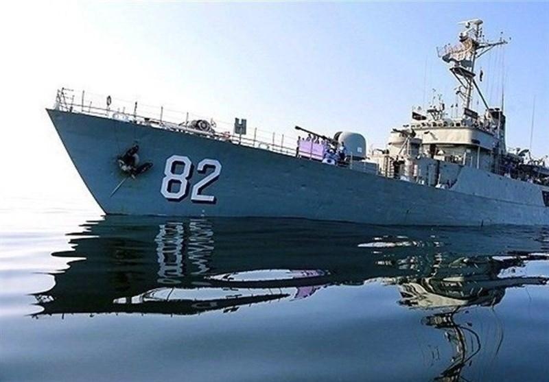 ناوهای نیروی دریایی ارتش راهی سواحل کشور عمان شدند