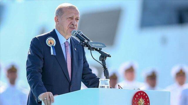 اردوغان: تا عمق 30 تا 35 کیلومتری خاک سوریه پیش می رویم