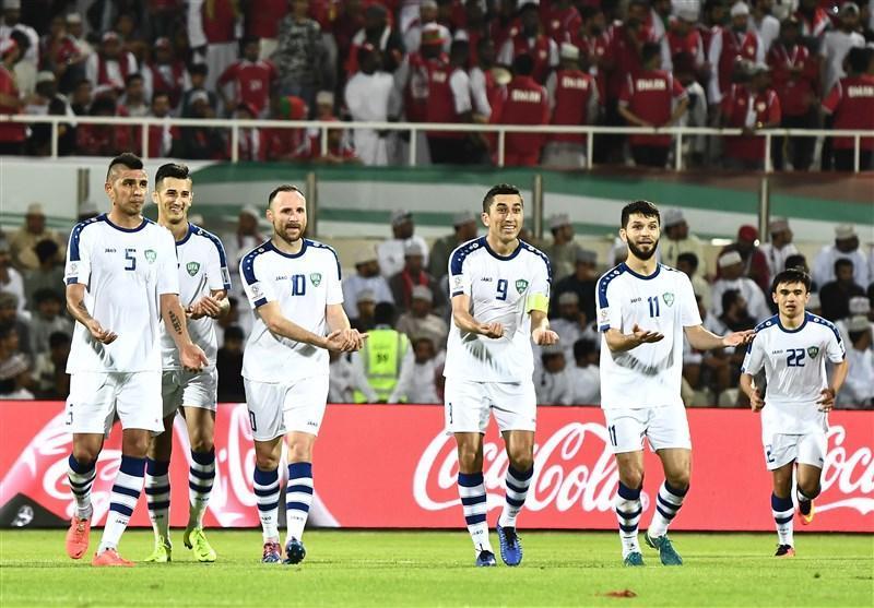 جام ملت های آسیا، رجحان ازبکستان مقابل عمان با تعویض طلایی کوپر
