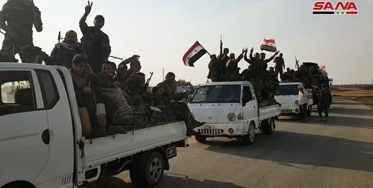 ورود نیروهای سوریه و ترکیه به اطراف راس العین