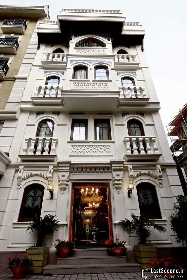 لوکس ترین هتل های جهان : نایلز ،استانبول