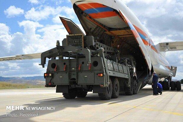 سامانه موشکی اس 400 در ترکیه آزمایش می گردد