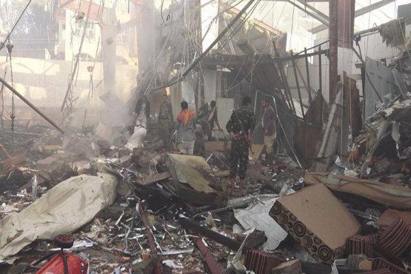 بمباران مناطق مختلف الحدیده توسط متجاوزان سعودی