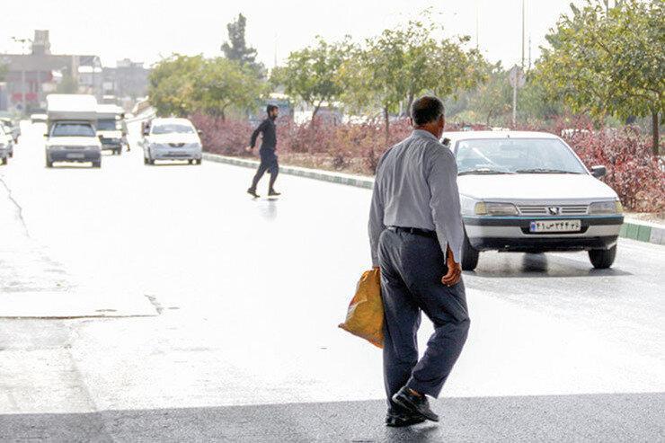 20 درصد تلفات جاده ای مربوط به عابران پیاده ، بیشتر فوتی ها در 3 استان
