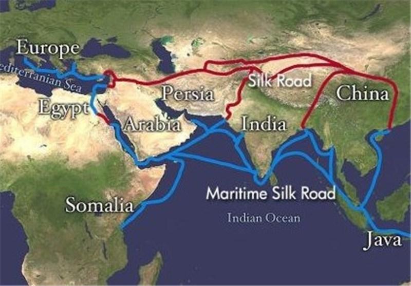 گسترش ارتباط به وسیله جاده ابریشم جزء برنامه های اصلی چین است