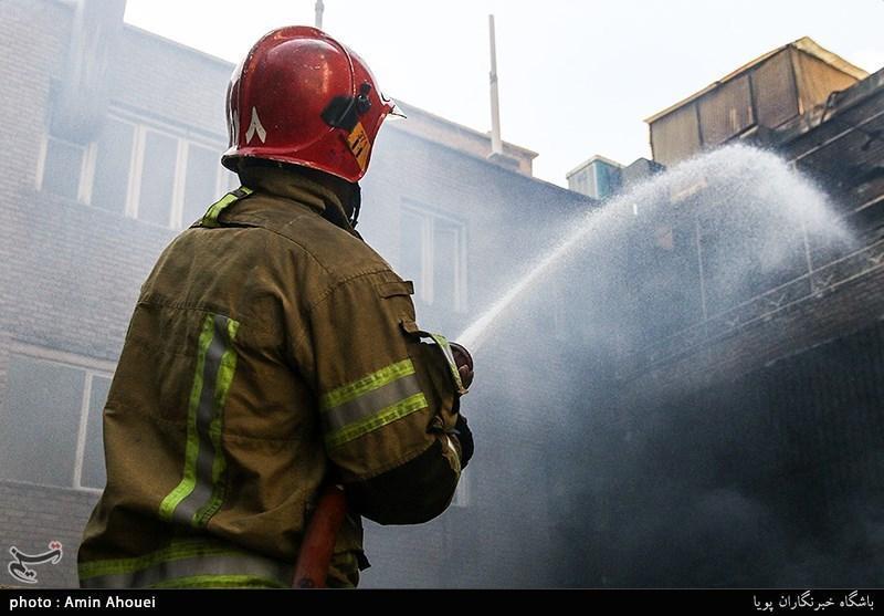 آتش سوزی منزل مسکونی بر اثر نشت گاز در سنندج تلفات جانی نداشت