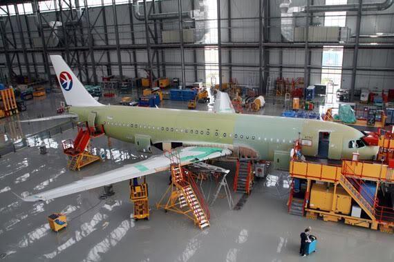 ایرباس خط مونتاژ هواپیما در چین را متوقف کرد