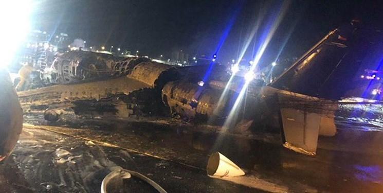 فیلم، سقوط هواپیمای حامل بیمار مبتلا به کرونا در فیلیپین