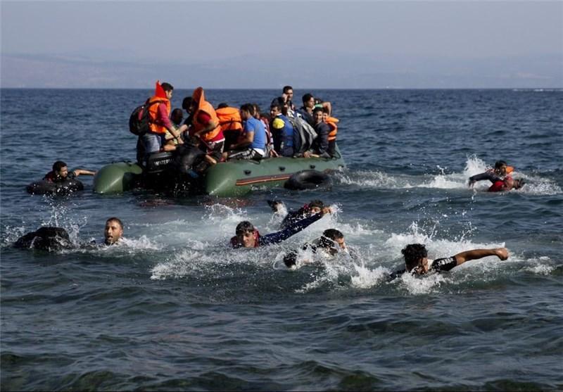 7 پناهجو بر اثر برخورد کشتی گارد ساحلی یونان با قایق حامل مهاجران جان باختند
