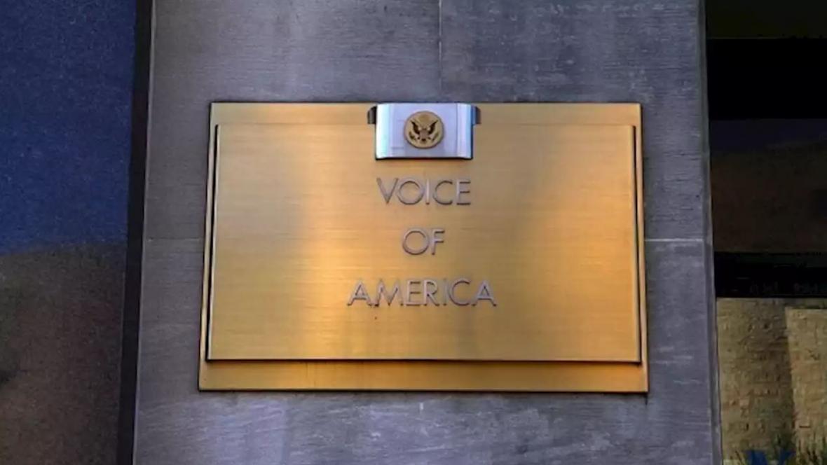 خبرنگاران بیانیه انتقادی کاخ سفید از صدای آمریکا بدلیل پخش تبلیغات چین