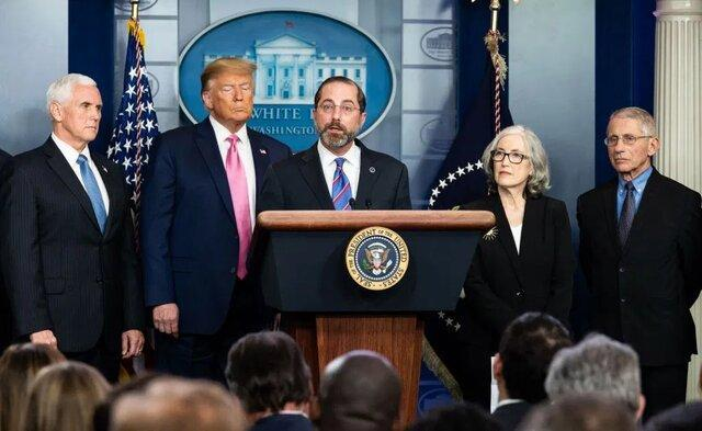 ترامپ هشدارهای وزیر بهداشت درباره کرونا را نادیده گرفته بود