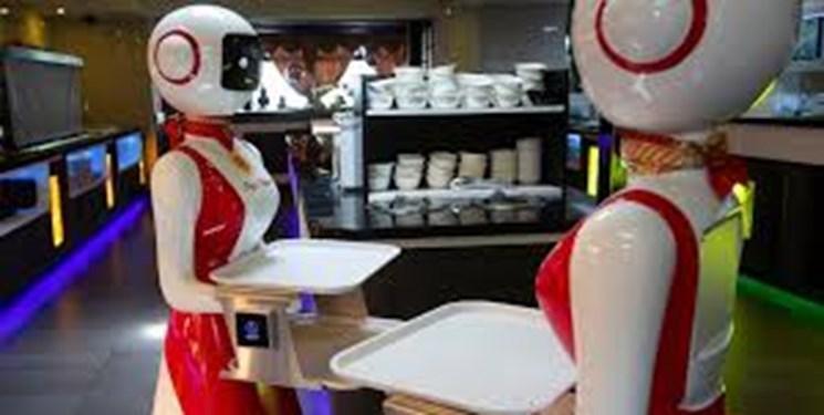 خدمتکاران این رستوران ربات هستند