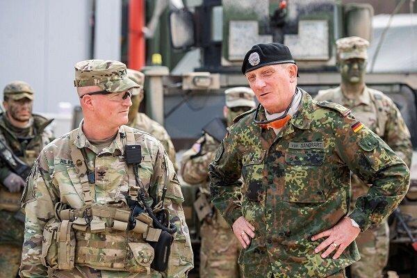 نظامیان آمریکایی 1میلیارد یورو هزینه روی دست آلمان گذاشته اند
