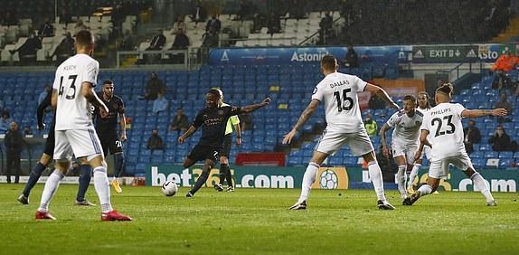 لیدزیونایتد 1 - 1 منچسترسیتی؛ گواردیولا قسر در رفت!