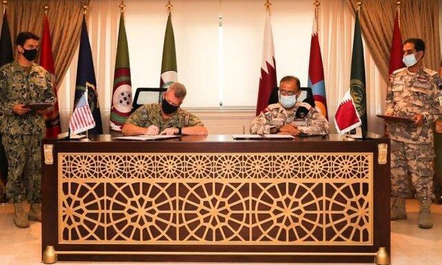 قطر با وزارت دفاع آمریکا توافقنامه نظامی امضا کرد