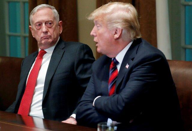 مقاله انتقادی رئیس سابق پنتاگون صدای ترامپ را درآورد