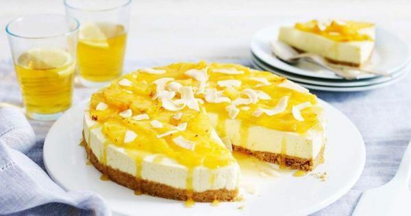 طرز تهیه چیز کیک آناناس بدون نیاز به فر