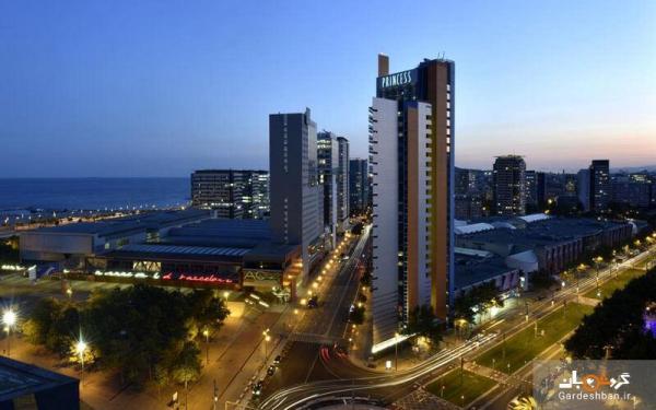 هتل پرنسس بارسلون؛ اقامتگاهی لوکس و مرتفع در سواحل مدیترانه ای
