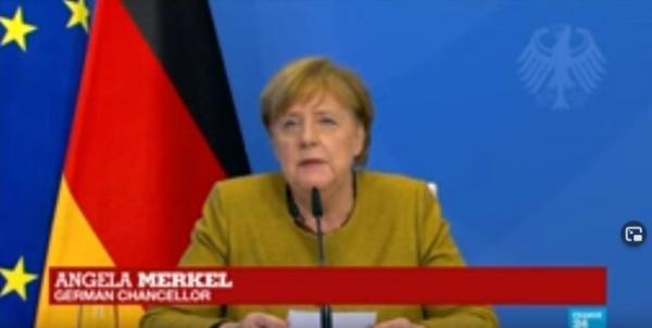 مرکل: باید دستور کار مشترک آمریکا- اروپا با رویکرد چین و روسیه تهیه گردد