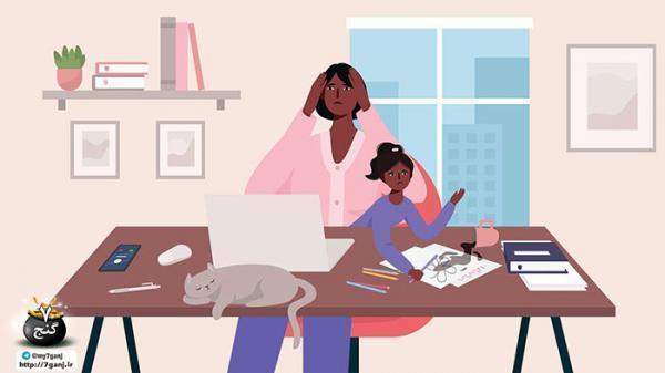 تلفات بهداشت روان والدین در هنگام شیوع ویروس کرونا