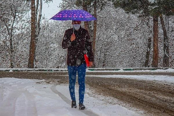 آغاز بارش برف و باران در 11 استان از فردا، هشدار وزش باد شدید و کاهش دما