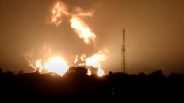 انفجار در یک پالایشگاه نفت اندونزی، زخمی شدن 20 تن