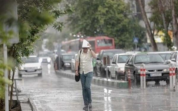 ورود سامانه بارشی به کشور؛ 8 استان بارانی می شوند