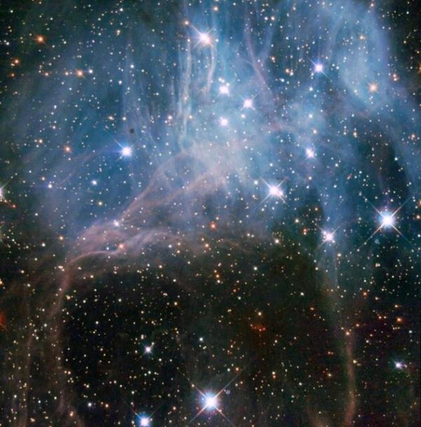 دورهمی ستارگان جوان در دل فضا
